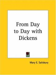 Cover of: From Day to Day with Dickens | Mary E. Salisbury