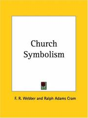 Cover of: Church Symbolism | F. R. Webber