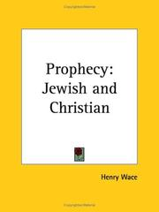 Cover of: Prophecy
