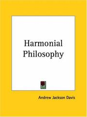 Cover of: The harmonial philosophy
