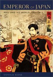 Cover of: Emperor of Japan | Donald Keene