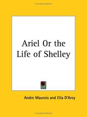 Cover of: Ariel or the Life of Shelley |