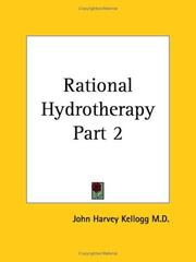 Cover of: Rational Hydrotherapy, Part 2