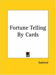 Cover of: Fortune Telling By Cards