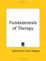 Cover of: Fundamentals of Therapy | Rudolf Steiner
