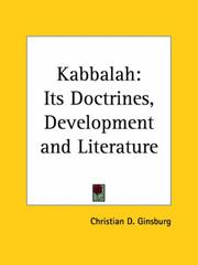Cover of: The Kabbalah