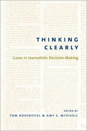 Cover of: Thinking clearly |
