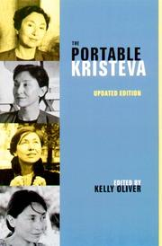Cover of: The Portable Kristeva