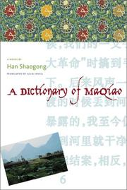 Cover of: A Dictionary of Maqiao