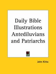 Cover of: Daily Bible Illustrations Antediluvians and Patriarchs