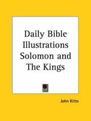 Cover of: Daily Bible Illustrations Solomon and The Kings