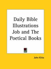 Cover of: Daily Bible Illustrations Job and The Poetical Books