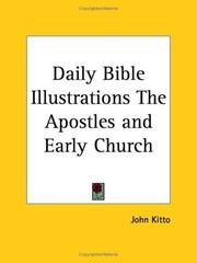 Cover of: Daily Bible Illustrations The Apostles and Early Church