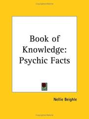 Cover of: Book of Knowledge