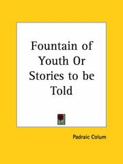 Cover of: Fountain of Youth or Stories to be Told