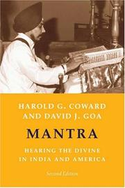 Mantra by Harold G. Coward, David Goa