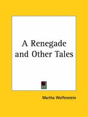Cover of: A Renegade and Other Tales