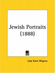 Cover of: Jewish Portraits | Lady Katie Magnus