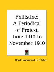 Philistine - A Periodical of Protest, June 1910 to November 1910