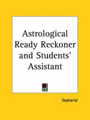 Cover of: Astrological Ready Reckoner and Students