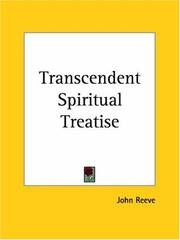 Cover of: A transcendent spiritual treatise
