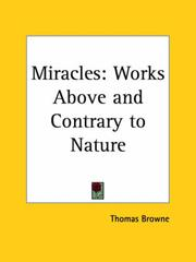 Cover of: Miracles