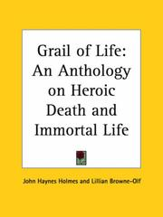 Cover of: Grail of Life |