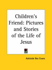 Cover of: Children's Friend