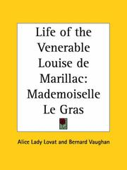 Cover of: Life of the Venerable Louise de Marillac | Lovat, Alice Lady