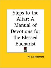 Cover of: Steps to the altar