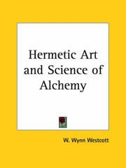Cover of: Hermetic Art and Science of Alchemy