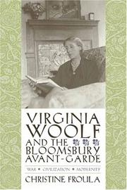 Cover of: Virginia Woolf and the Bloomsbury avant-garde