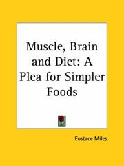 Cover of: Muscle, Brain and Diet