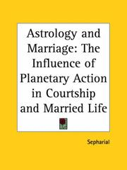 Cover of: Astrology and Marriage