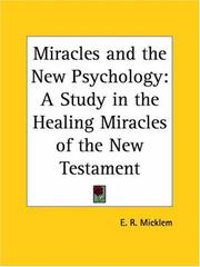 Cover of: Miracles & the new psychology