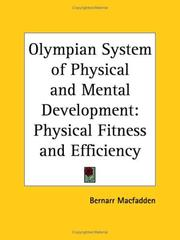 Cover of: Olympian System of Physical and Mental Development