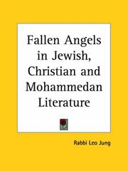 Cover of: Fallen Angels in Jewish, Christian and Mohammedan Literature | Leo Jung