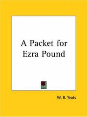 Cover of: A packet for Ezra Pound