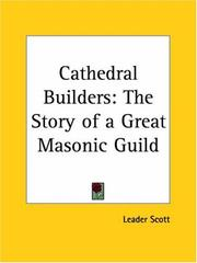 Cover of: The cathedral builders