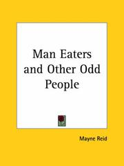 Cover of: The man-eaters and other odd people