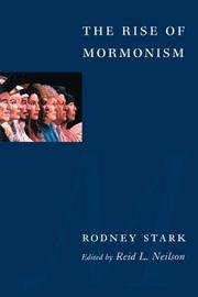 Cover of: The Rise of Mormonism