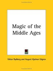 Cover of: Magic of the Middle Ages
