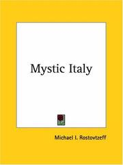 Cover of: Mystic Italy