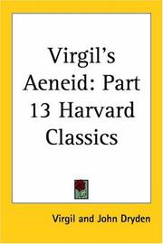Cover of: Virgil's Aeneid