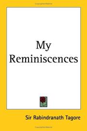 Cover of: My Reminiscences | Rabindranath Tagore