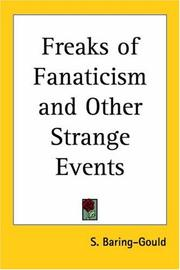 Cover of: Freaks of Fanaticism and Other Strange Events