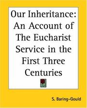 Cover of: Our inheritance
