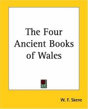 Cover of: The Four Ancient Books Of Wales