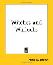 Cover of: Witches and Warlocks