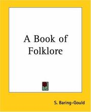 Cover of: A book of folk-lore
